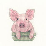 HC1159 - Pig Little Friends Collection by Valerie Pfeiffer and S